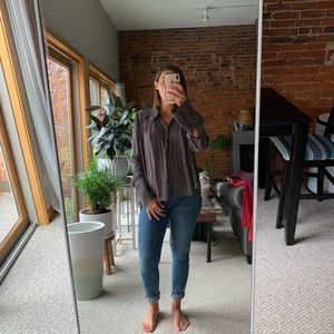 Free people blouse sz medium